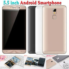 "5.5"" Unlocked Quad Core Android Smartphone IPS GSM GPS 3G Dual SIM & Camera Lot"