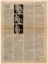 Rick Derringer Interview/article 1973 RS-FGJK