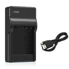 Black USB Battery Charger for Canon Powershot SX240 HS SX260 SX280 ELPH 500 HS