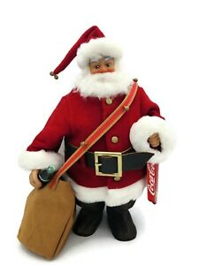 Steiff Coca Cola Santa Claus Presents Gifts Mohair Bear Limited Edition 260