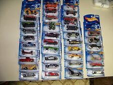 HOT WHEELS 1st EDITIONS 35/36 SET OF CARS - 2001 SEALED case fresh cond.