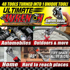 Wrench 48in1 Universal Wrench Socket Multi-Function Adjustable works like tiger