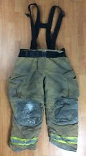 Globe GXtreme Firefighter Bunker Turnout Pants w/ Suspenders 40 x 30  '07