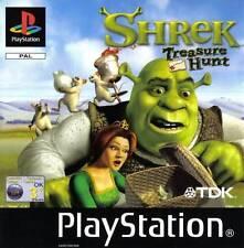 Shrek Treasure Hunt-Sony PlayStation 1 PSX ps1-sólo CD