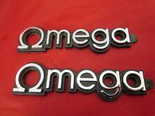(2) new GM OEM NOS 1980 - 1984 Oldsmobile Omega namplates emblems scripts