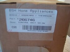 bosch dishwasher control board 266746  n.o.s new old stock in box