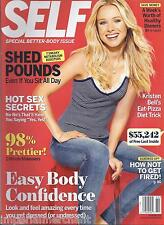Self Magazine Kristen Bell Easy Body Confidence Makeovers Beauty Makeup Beauty