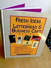 Fresh Ideas in Letterhead & Business Card Design, Diana Martin & Mary Cropper HC