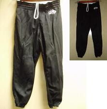Baseball Pants Youth Boys Branded Black Small Polyester Pullup NEW