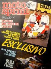 Motosprint 8 1983 Yamaha di Roberts per battere Suzuki e Honda [Q83]