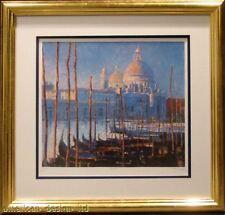 John Hammond Venice II Gallery Custom framed Serigraph HS L@@K! SUBMIT OFFER