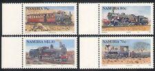Namibia 1994 Steam Engines/TrainsRail/Railways/Transport 4v set (n16412)