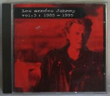 Johnny Hallyday CD Années Johnny 1985/95