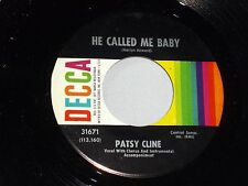 Patsy Cline: He Called Me Baby / Bill Bailey, Won't You....   [Unplayed Copy]