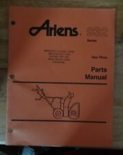 Ariens 932 Series Sno Thro Repair Manual 1994