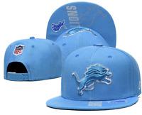 Detroit Lions NFL Football Embroidered Hat Snapback Adjustable Cap