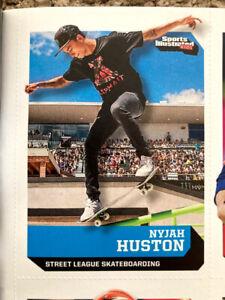 2015 SPORTS Illustrated Für Kinder Nyjah Huston Rookie Card Full Zeitschrift