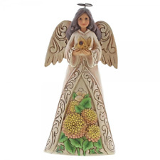 Jim Shore Heartwood Creek Birthday November Angel Ornament 6001572