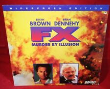 Laserdisc [n] * F/X * Bryan Brown Diane Venora Brian Dennehy Widescreen