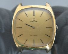 Authentic OMEGA DE VILLE Hand Wind Mens Wrist Watch 17Jewels 111.0139 Swiss Made