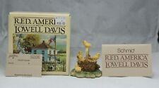 """New ListingSchmid R.F.D America Lowell Davis """"Peep Show"""" by Border Fine Art #25376 Nib"""