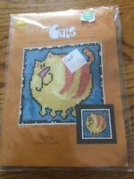 Simply Heritage Cats Counted Cross Stitch Kit 14 Count