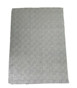 Kelly Hoppen Grey / Ivory Diamond Wool Blended Woven Rug 230 X 160cm New