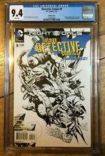Detective Comics #9 1:200 Daniel Sketch Variant CGC 9.4