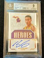 2018 BGS 9 MINT National Treasures Hometown Heroes Bronze /25 Kyle Kuzma Auto