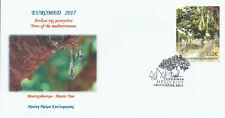 Greece 2017 - Euromed - Fdc stamp 2 side perforation from booklet-unofficial (2)
