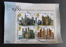 Architecture Used Great Britain Commemorative Stamps (1970s)