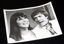 1967 Sonny Bono And Cher Carol Burnett Show Vintage 7x9 Press Photo
