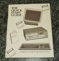 THE QUICK START GUIDE PACKARD BELL MS-DOS Vintage computer manual