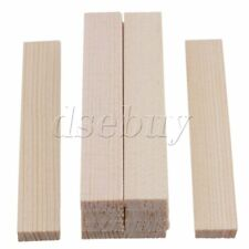 10 x Smooth Square Balsa Bamboo Sticks 80mm Length for Craft Model DIY