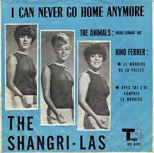 "THE SHANGRI-LAS / THE ANIMALS / NINO FERRER IRANIAN ORIG EP 45 PS 7"""