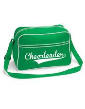CheerleaderTasche grün - Retro Shoulder Bag - Cheerleading Trainingstasche
