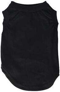 Mirage Pet Products 8-Inch Plain Shirts, X-Small, Black