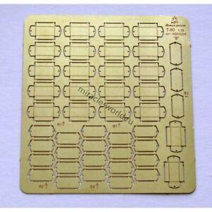 """Microdesign 035216 Photoetched ERA blocks """"Kontakt-5"""" for russian AFV 1/35"""