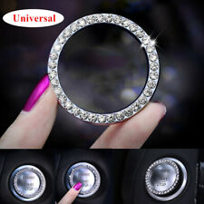 1PC Car SUV Engine Start Stop Push Button Knob Key Switch Decor Bling Ring Trim