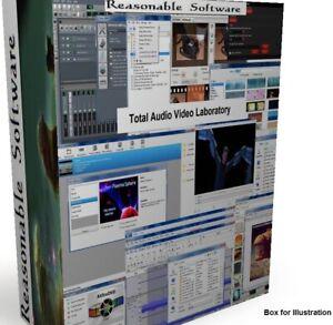 DVD CD Ripper burner converter editor any audio video formats edited published