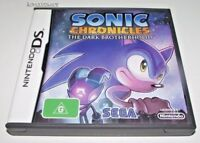 Sonic Chronicles The Dark Brotherhood Nintendo DS 3DS Game *Complete*