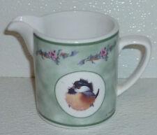 """Valerie Pfeiffer Creamer Vtg 2000 Bird Chick Green Band Innovation 3.75"""""""