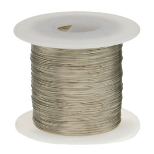 18 AWG Gauge Nickel Chromium Resistance Wire Nichrome 80 500' Length 0.040""