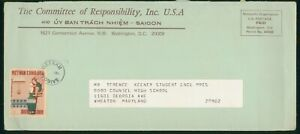 Mayfairstamps Vietnam Committee Responsibility Inc Good Councel High School Cove