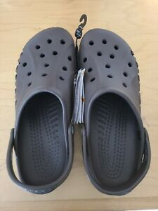 Crocs Baya Unisex Brown Slip On Clogs 10126-206 Men Size 10 Women Size 12 New