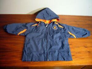 University of Illinois Fighting Illini Unisex Size 18M Nike Zip Jacket Coat Hood