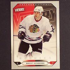 BRENT SEABROOK RC 2005-06 UD Victory Rookie # 253 Chicago Blackhawks single