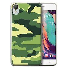 Stuff4 Gel/TPU Hülle/Case für HTC Desire 10 Lifestyle/Armee/Tarnung
