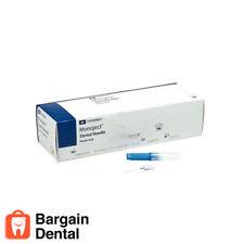 500 Monoject Kendall Plastic Hub Dental Medical Needles 30g Blue Short