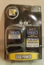 NIKKO 9.6V 650MAH SLOT IN BATTERY PACK AND CHARGER B01565